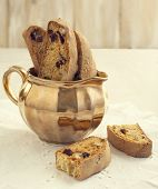 Biscotti With Cranberry And Walnuts