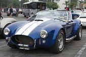 Shelby Cobra 427 on exhibition at the annual event Supercar Sunday Ferrari Day