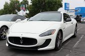 Maserati on exhibition at the annual event Supercar Sunday