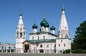 The church of Iliay the Prophet. Yaroslavl. Russia