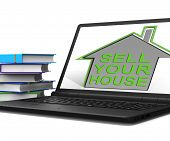 Sell Your House Home Tablet Means Find Property Buyers