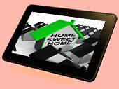Home Sweet Home House Tablet Cozy And Familiar