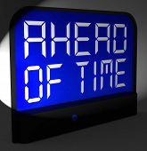 Ahead Of Time Digital Clock Shows Earlier Than Expected