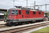 Locomotive of SBB