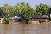 Restaurant On The River Mekong In Don Khon