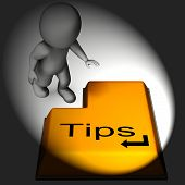 Tips Keyboard Means Online Guidance And Suggestions