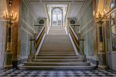 Stairs In Chateau De Versailles