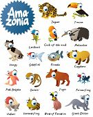 Big Amazonia Animals Set