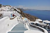 view over ia on greek island Santorini