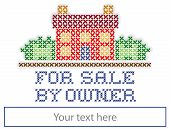Real Estate For Sale By Owner Yard Sign