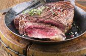 steak in the frypan