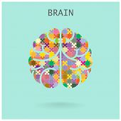 Creative Jigsaw Brain