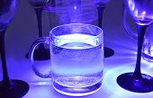 Magic Mineral Water In Glasses