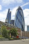 Modern Architecture City Of London The Leading Centre Of Global Finance