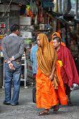 tourist monk