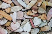 foto of pumice-stone  - The stones for the scrub clean the body - JPG
