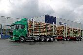 Scania R730 Euro 6 V8 Timber Truck
