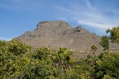 A mountain on South Tenerife