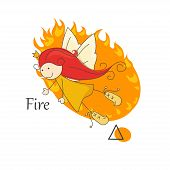 Fairy of fire.