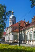 St. Petersburg, Russia Buildings Architecture Alexander Nevsky Lavra