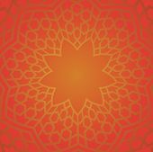 Persian pattern in red color