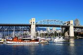 Harbour under Burrard Bridge
