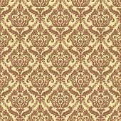 Vintage seamless pattern background