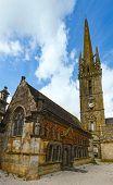 The Saint-suliau Church In Sizun (brittany, France).