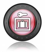 Icon, Button, Pictogram Locker