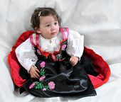 Angela, The Girl In Traditional Dress