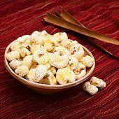 Bolivian Snack Pasancalla (Sweetened Popped Corn)