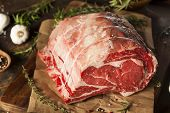 Raw Grass Fed Prime Rib Meat