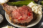 Homemade Grass Fed Prime Rib Roast