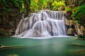 Landscspe Of Waterfall
