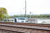 Train Tracks River