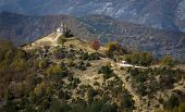 Beautiful Church On A Hill In Bulgaria