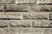 Texture Of Brown Stone Wall Background Structure