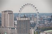 LONDON - 09 JUNE 2013: Millennium Wheel - an Architectural Landmarks in the Capital of London on 09 June 2013