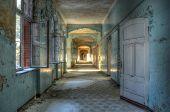 Old Corridor In Beelitz