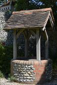 Well In Rottingdean. Sussex. England