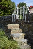 Steps In Sea Wall At Bosham. Sussex. England