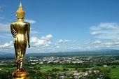 Buddha Facing The Entrance City