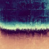 Retro background with grunge texture. With different color patterns: blue; purple (violet); brown; yellow