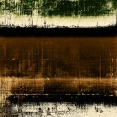 Rough vintage texture. With different color patterns: black; gray; brown; yellow