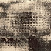 Old Texture or Background. With different color patterns: black; gray; brown