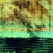 Designed grunge texture or background. With different color patterns: brown; green; gray; blue