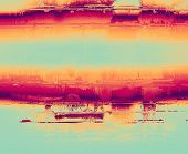 Retro background with grunge texture. With different color patterns: blue; purple (violet); orange; red; yellow