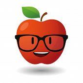 Apple Avatar Wearing Glasses