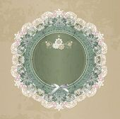 Elegant lace gentle background. Scrapbook element.