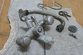Old Metal Faucet